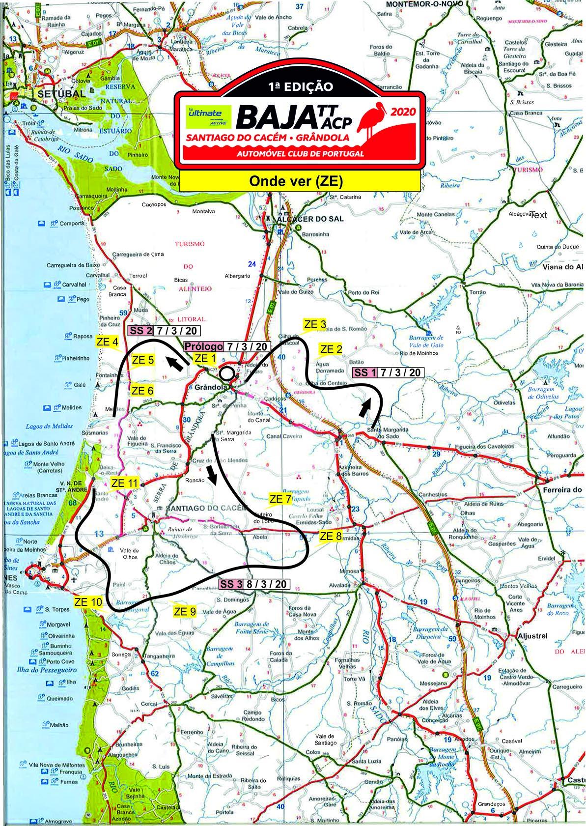 Baja Tt Acp Santiago Do Cacem Grandola Onde Ver Autosport